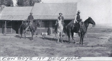The Deep Hole Ranch was owned by Louis Gerlach