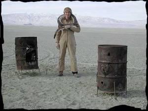 Dueling Burn Barrels.